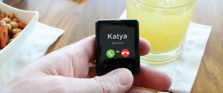 Is Nanite de kleinste smartphone ter wereld?