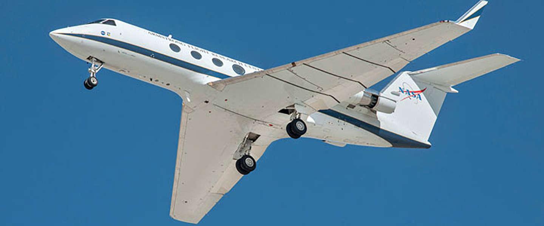 NASA probeert vliegtuiglawaai te verminderen