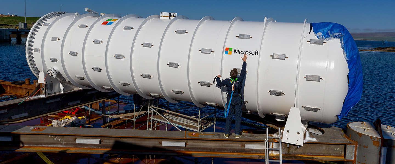 Het onderzeese datacenter van Microsoft heeft nu een webcam