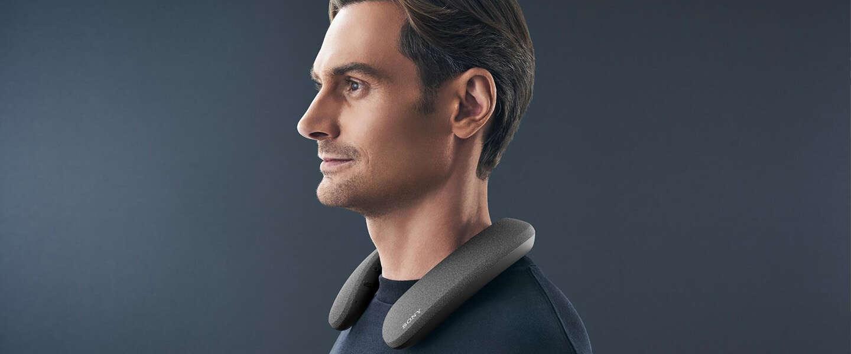 Sony's nieuwe speaker is… een nekband
