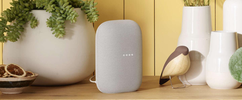 De nieuwe Nest Audio vooral ontworpen voor weergave van muziek