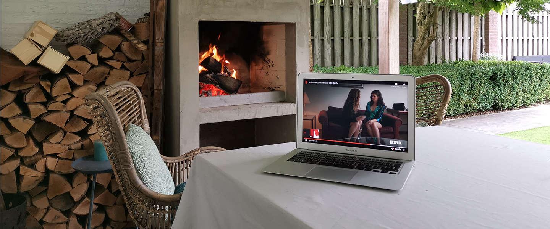 Netflix achter in de tuin? Zorg voor een optimaal WiFi netwerk!