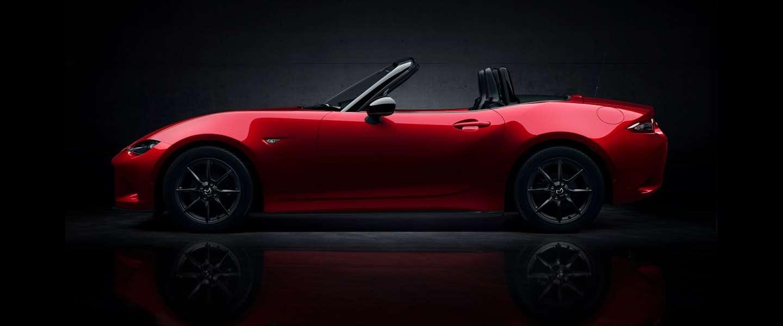 De nieuwe Mazda MX-5, 's werelds populairste roadster is mooi en lekker stoer