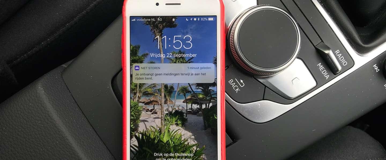 Zo werkt de 'niet storen in de auto-functie' in iOS 11