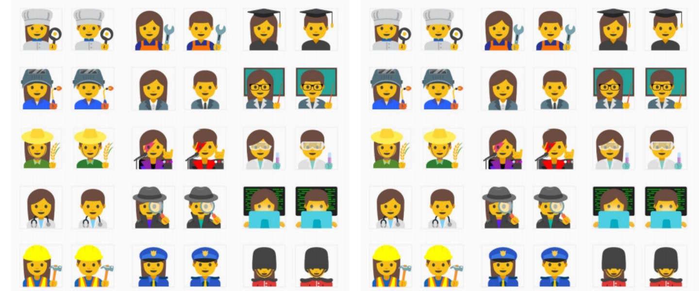 Unicode keurt nieuwe geslachtsopties voor emoji's goed