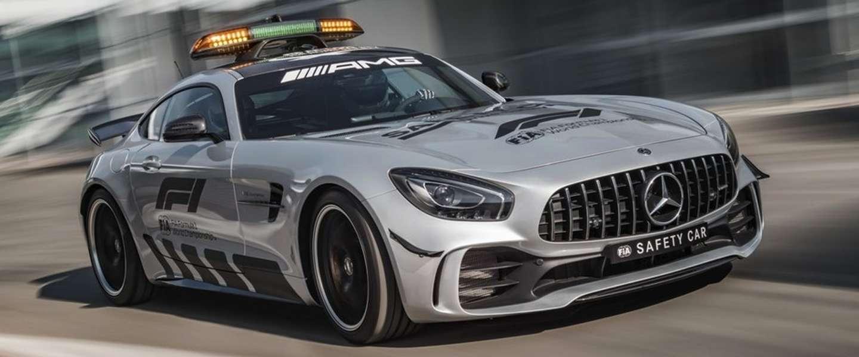 Dit is de nieuwe supersnelle Mercedes Safety Car voor de F1