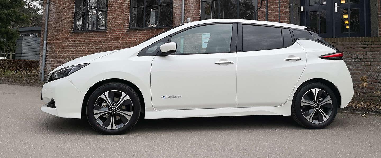 100.000 keer Nissan Leaf in Europa