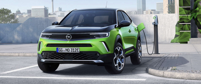 De nieuwe Opel Mokka zonder X maar wel elektrisch