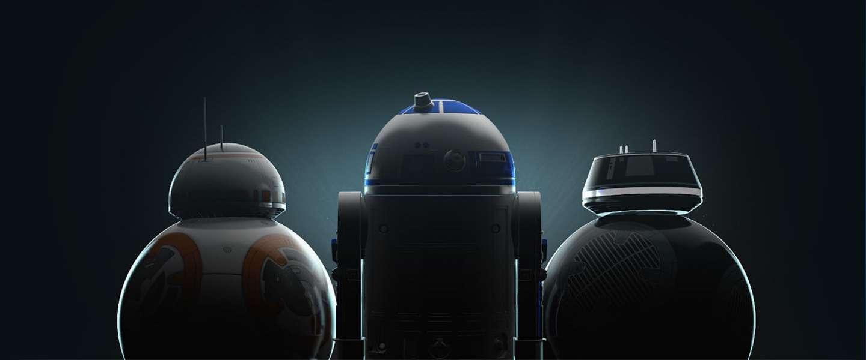 Op afstand bestuurbare Star Wars robots R2-D2 en BB-9E zijn vet!