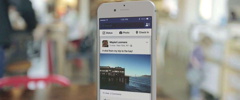 Facebook nieuwsoverzicht moet ook bij langzamere verbinding inladen