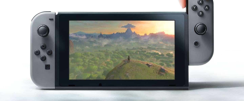 Nintendo's nieuwe console is de Switch