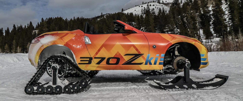 Nissan 370Zki Roadster, Znow mobiel voor mannen