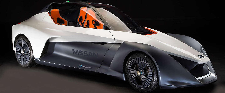 Elektrisch prototype Nissan BladeGlider maakt debuut in Rio