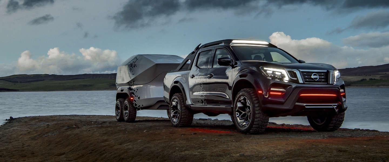Nissan Navara Dark Sky Concept nieuw opwindend pick-up-concept