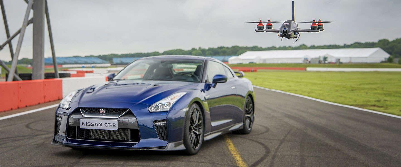 Sprint: Drone versus Nissan GT-R