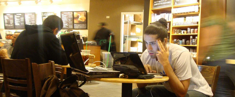 De opkomst van anti-internet cafés