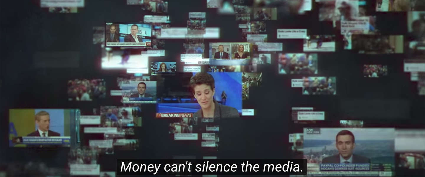 23 juni op Netflix: Nobody Speak. Miljardairs versus media.