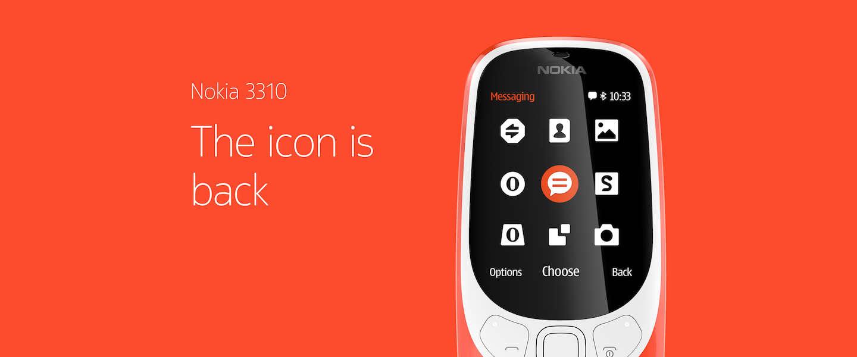 De sensatie van Mobile World: de Nokia 3310 is terug