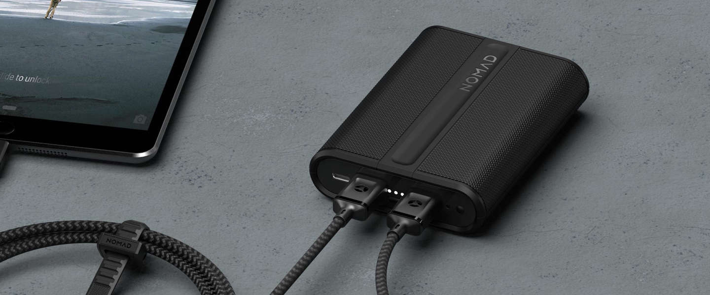 Handig: Powerbank voor je telefoon die je niet kwijt kunt raken