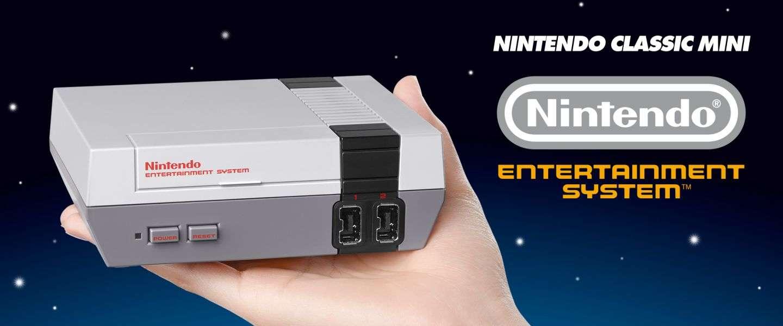 Productie Nintendo Classic Mini stop gezet