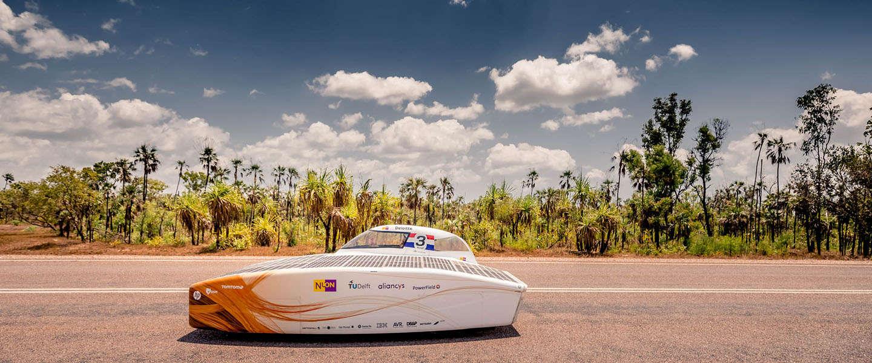 High-tech Nuna9 moet zonne-race winnen voor Nuon Solar Team