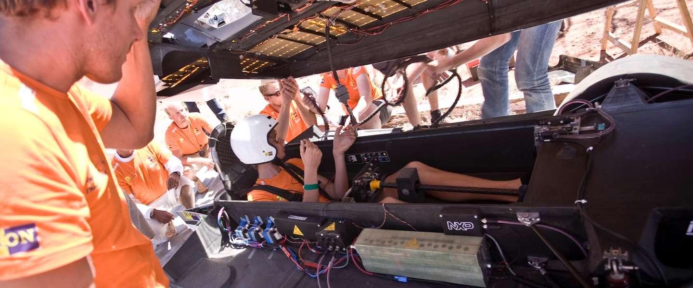 Het Nuon Solar Team moet opnieuw gaan knallen in Australië