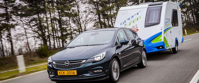 Opel Astra: 'trekauto van het jaar 2016'