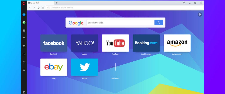 Opera's nieuwe browser heeft ingebouwde chat, VPN en adblocker