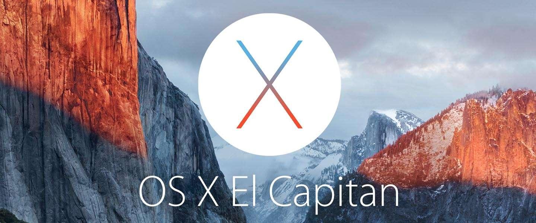 OS X El Capitan vanaf vandaag beschikbaar als gratis update