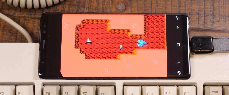 Je kunt met je Android telefoon oude games spelen vanaf floppy's