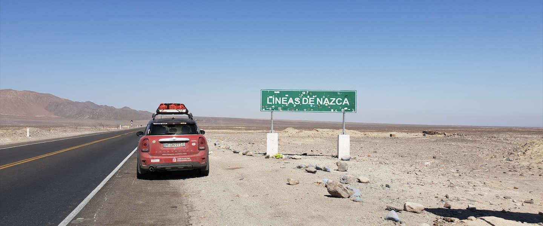 4.000 Km van Peru naar Chili in een Mini Cooper Countryman SE