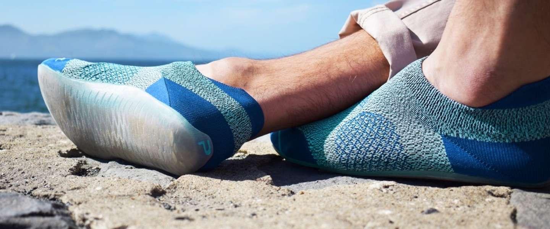 De Parasole is sok en schoen in één en heel goed voor je voeten