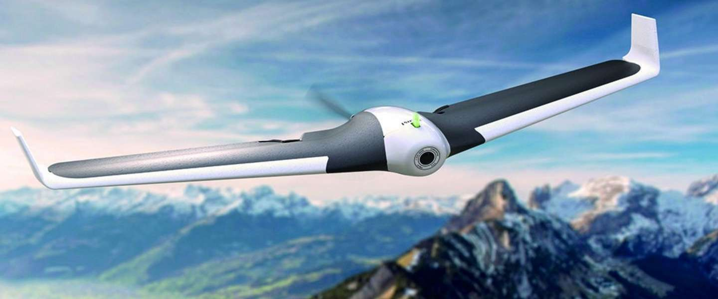 Parrot DISCO FPV: vliegtuigdrone met first-person videobril