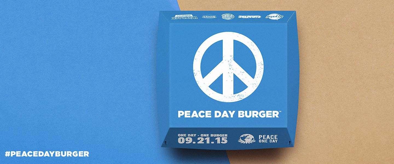 Burger King geeft niet op, poging 2: The Peace Day Burger