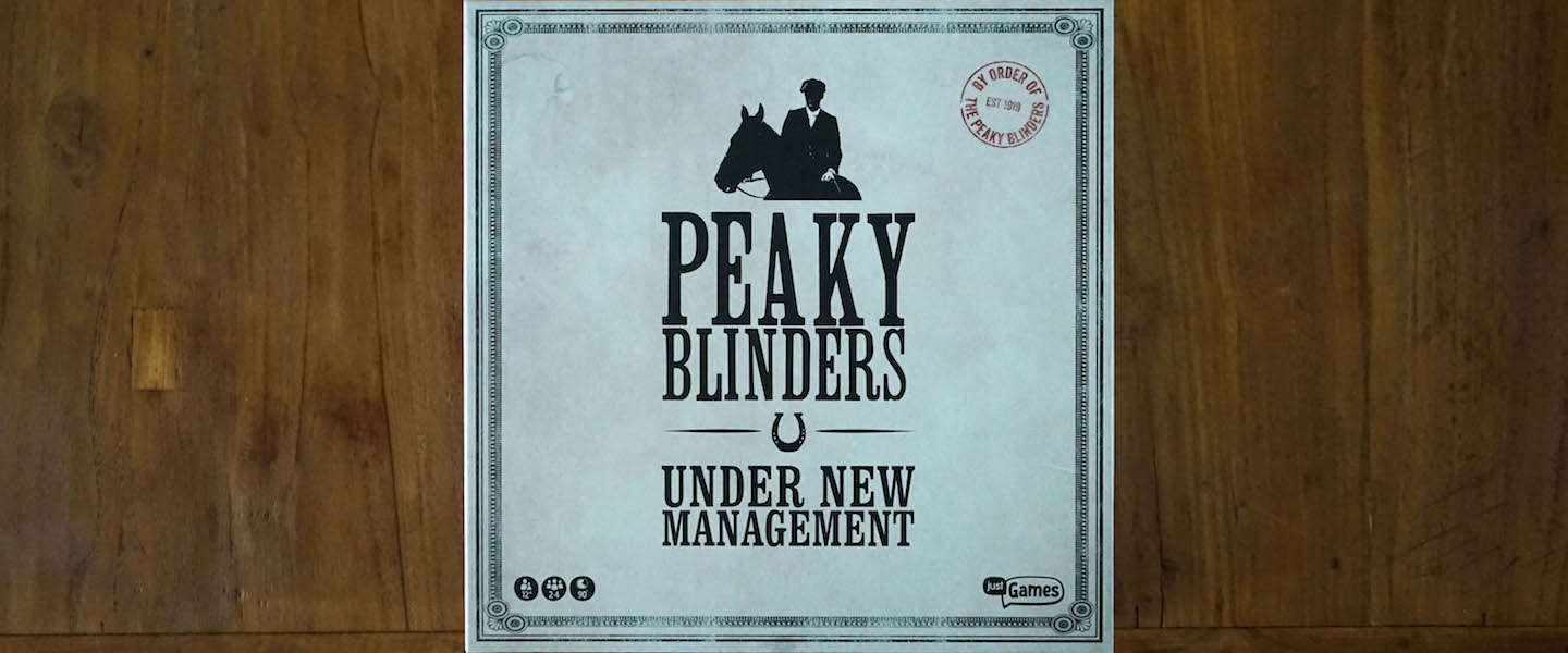 Peaky Blinders bordspel - Under New Management