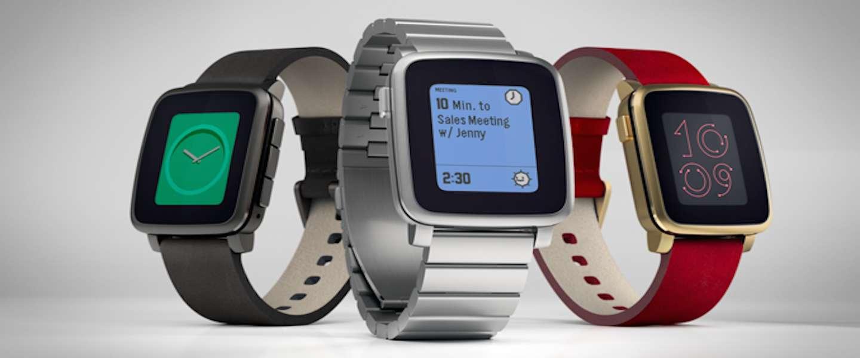Meer dan $20 miljoen voor Pebble Time via Kickstarter