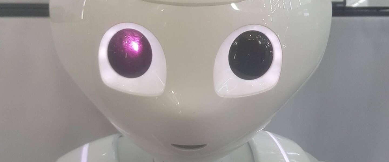 De schattige en populaire robot Pepper wordt niet meer gemaakt
