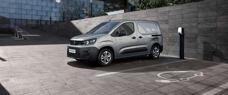 De nieuwe Peugeot e-Partner