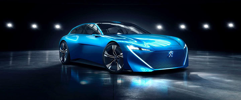 Nieuwe Peugeot Instinct Concept geeft je vrijheid