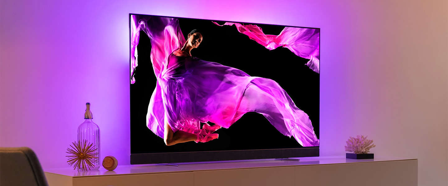 Philips TV introduceert samen met Bowers & Wilkins de OLED+ 903