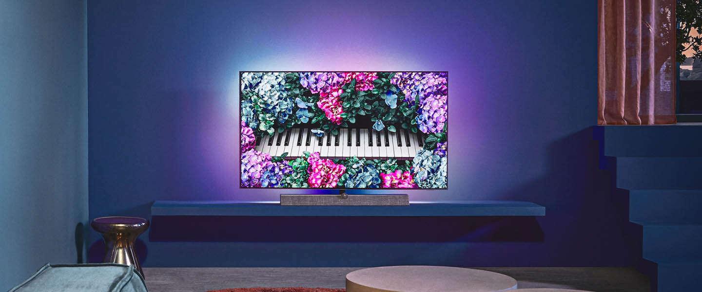 Philips TV introduceert samen met Bowers & Wilkins de OLED+935