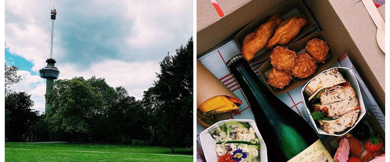 Duurzaam picknicken in hartje Rotterdam
