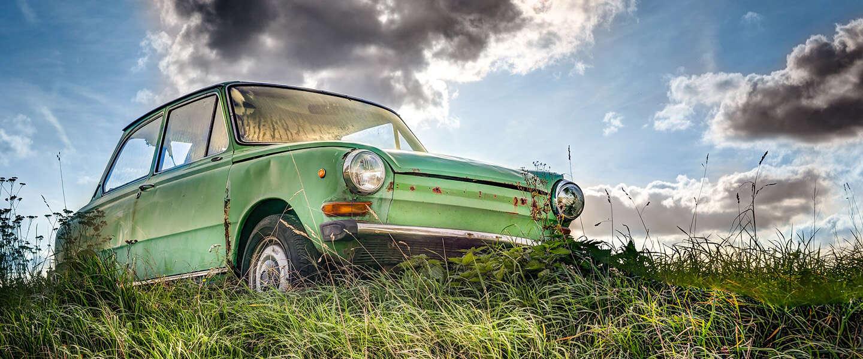 Een bijzonder item uit de autogeschiedenis: het pientere pookje
