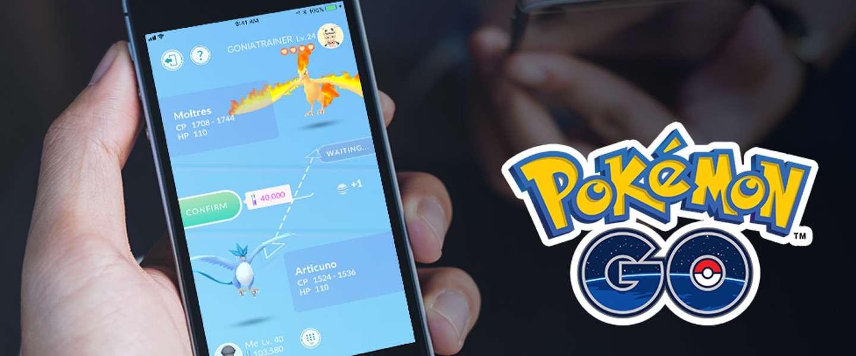 Zo werkt het nieuwe ruilsysteem van Pokémon Go