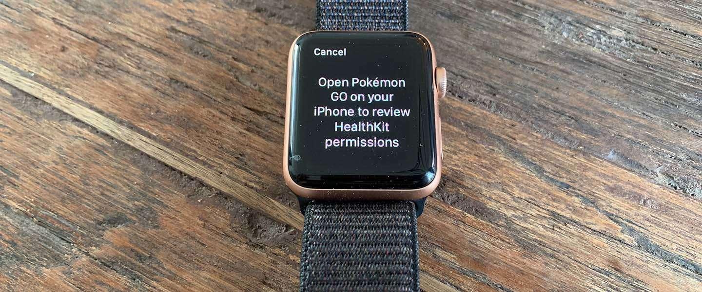 Je Pokémon Go-avonturen op Apple Watch zijn binnenkort voorbij