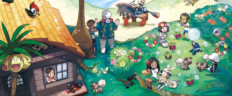 Nintendo viert release van nieuwe Pokémon games Sun en Moon