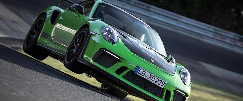 Nieuwe Porsche 911 GT3 RS doet de 'groene hel' in 6.56 minuten