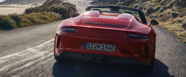 Nieuwe Porsche 911 Speedster