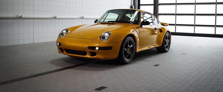 € 2,7 miljoen voor Porsche Classic's Project Gold
