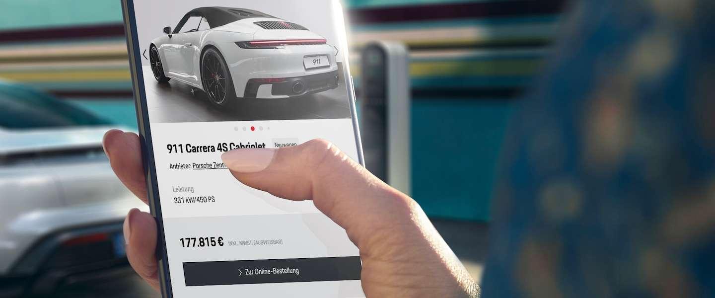 Porsche begint met online autoverkoop